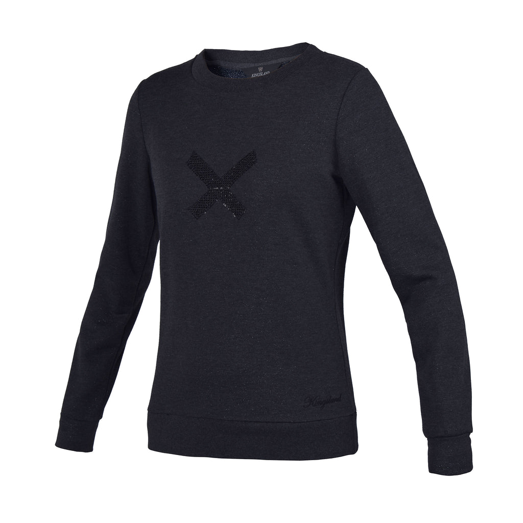 Kingsland Olavarria Ladies Sweater - Charcoal Melange