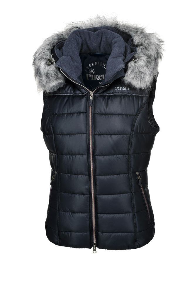 Pikeur Amica Ladies Padded Gilet - Navy