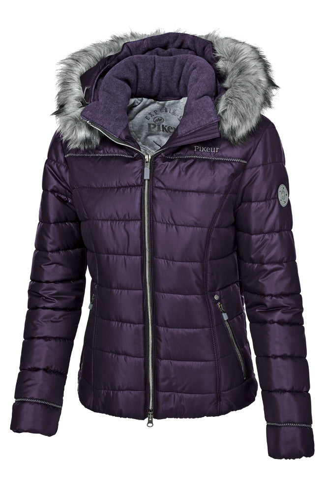 Pikeur Amal Ladies Padded Jacket - Grape