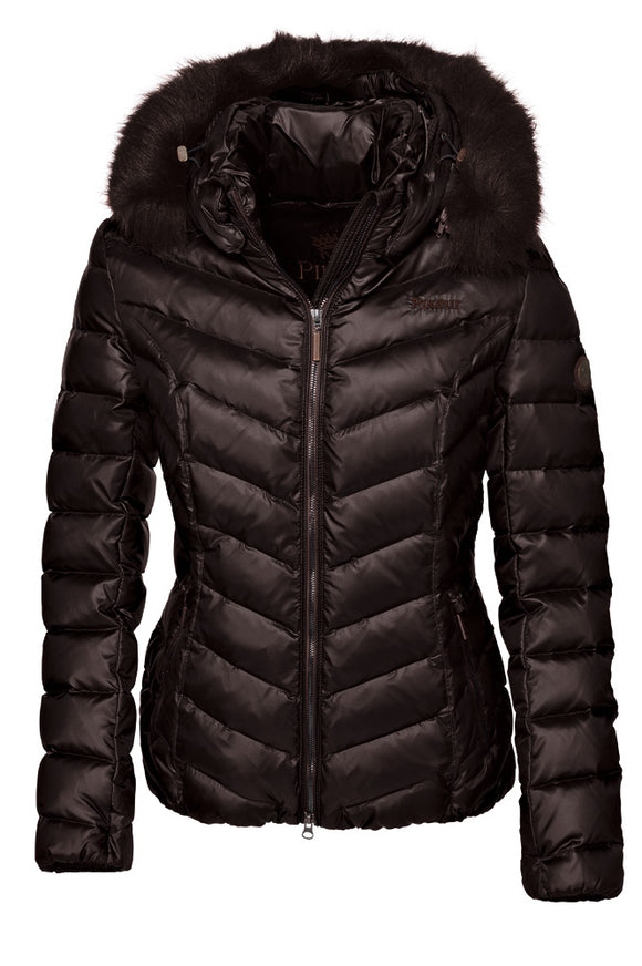 Pikeur Premium Tabelle Down Jacket - Coffee Bean