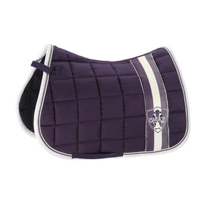 Eskadron AW18 Classic Sports Big Square Cotton Saddlepad - Plum