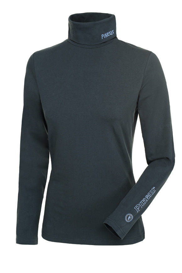 Pikeur AW18 SINA Rollneck Base Layer - Anthracite