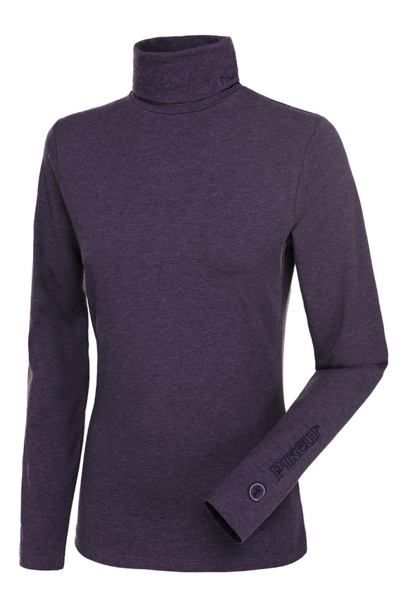 Pikeur SINA Rollneck Base Layer - Grape Melange