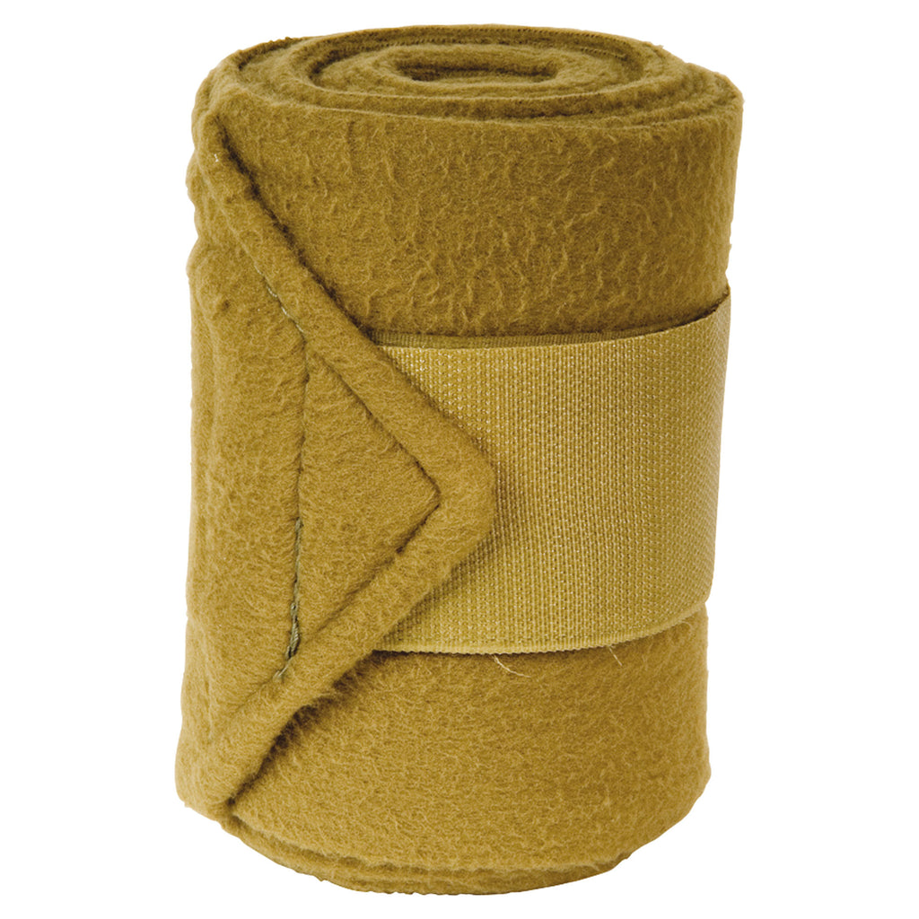 Imperial Riding Bandages Fleece With Velcro Olive