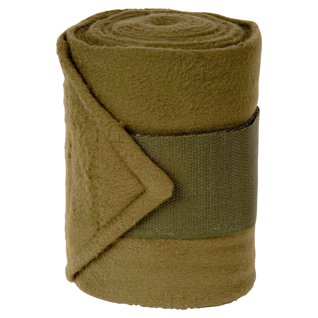 Imperial Riding Bandages Fleece With Velcro Teak
