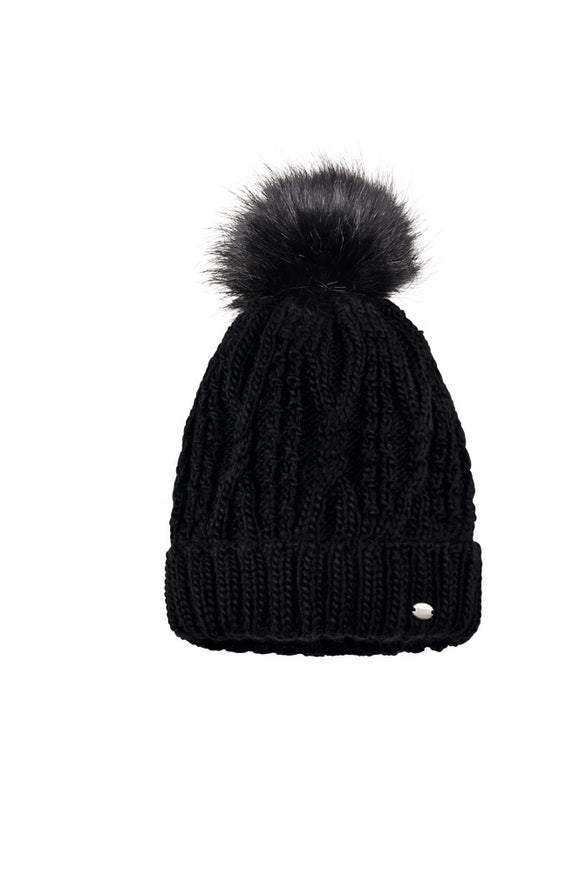 Pikeur Bobble Hat - Black