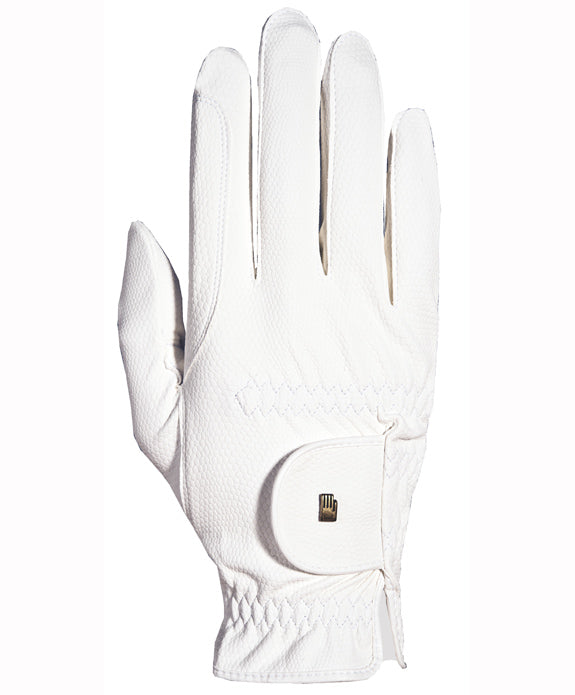 Roeckl Chester Roeck-Grip Winter Riding Gloves - White