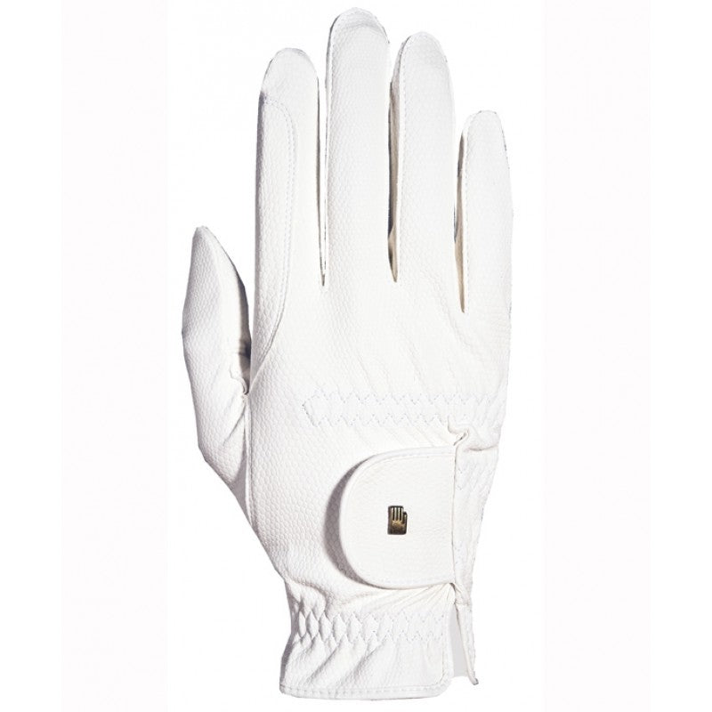 Roeckl Chester Roeck-Grip Riding Gloves - White