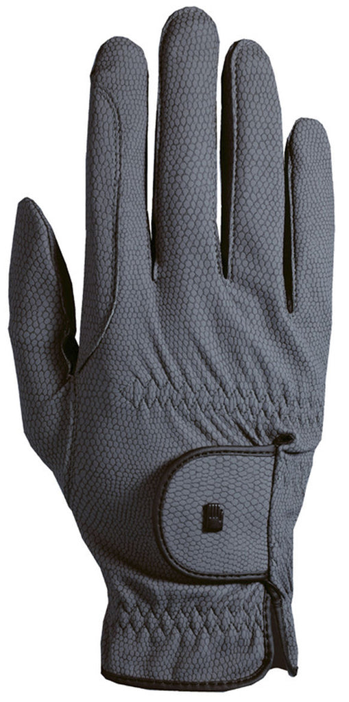 Roeckl Chester Roeck-Grip Riding Gloves - Anthracite