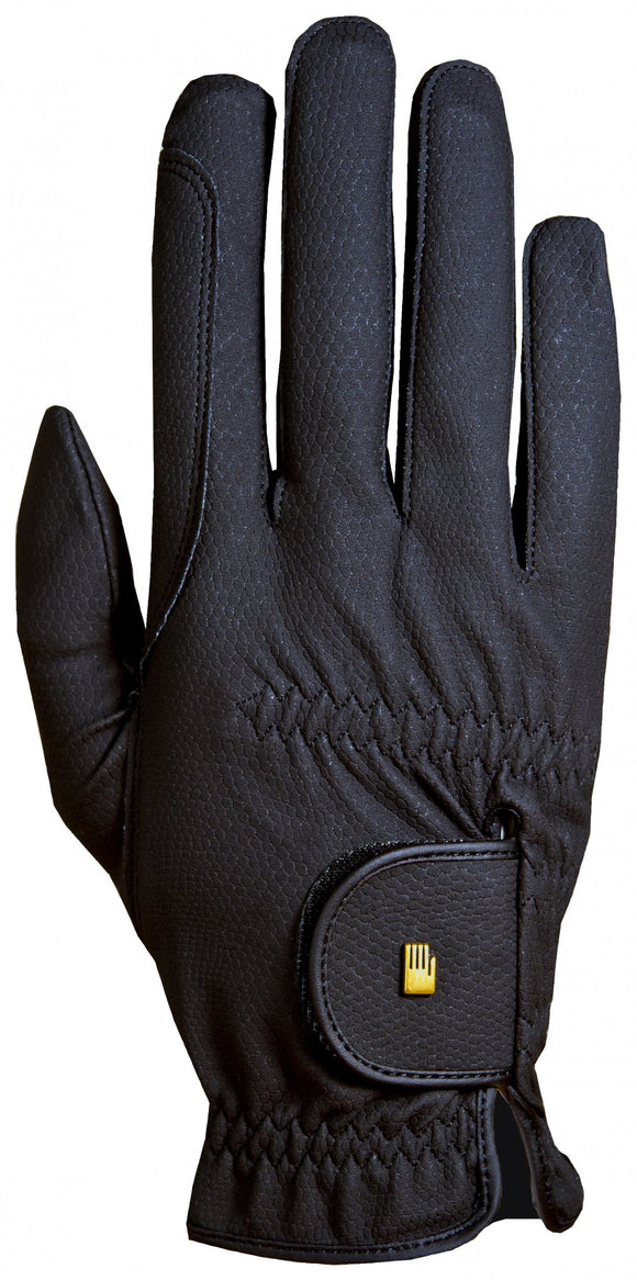Roeckl Chester Roeck-Grip Riding Gloves -Black