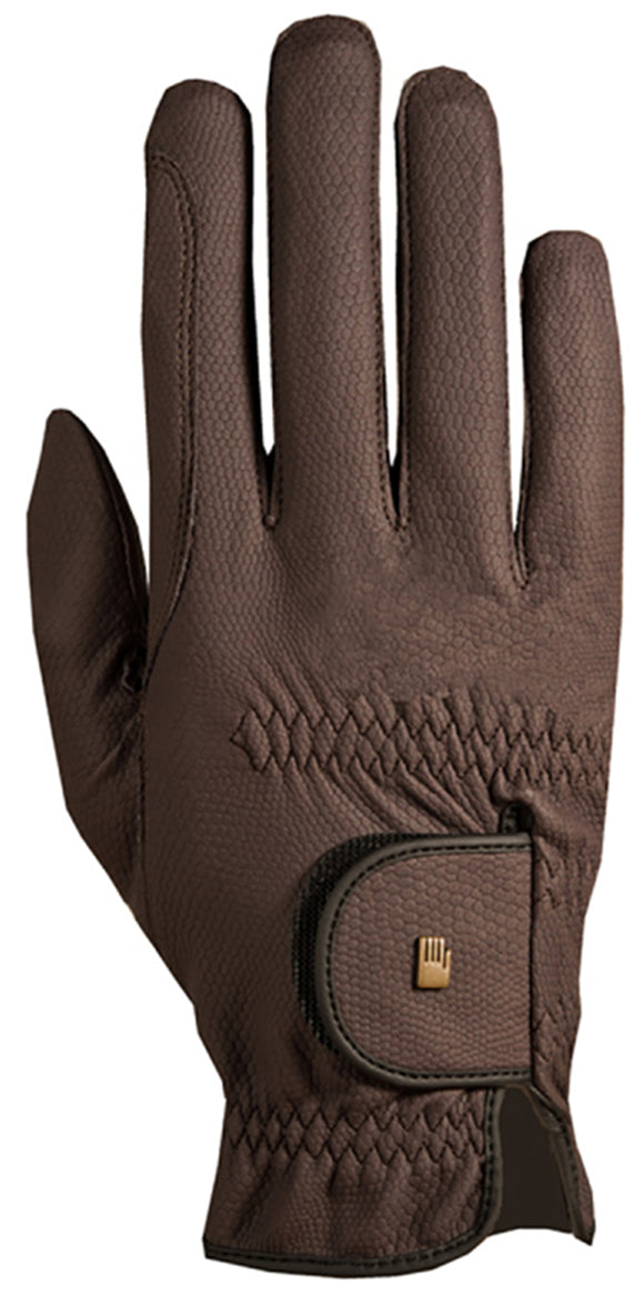 Roeckl Chester Roeck-Grip Riding Gloves - Mocha