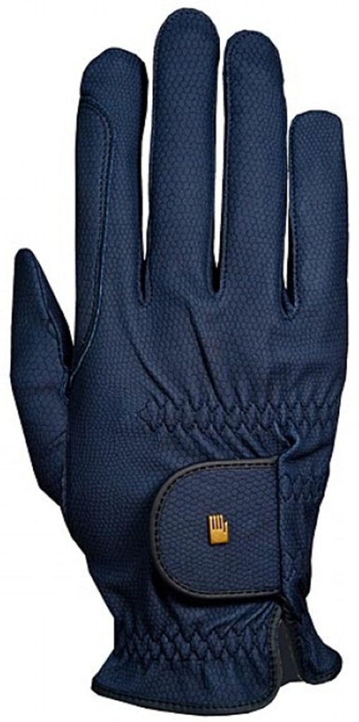 Roeckl Chester Roeck-Grip Riding Gloves - Navy