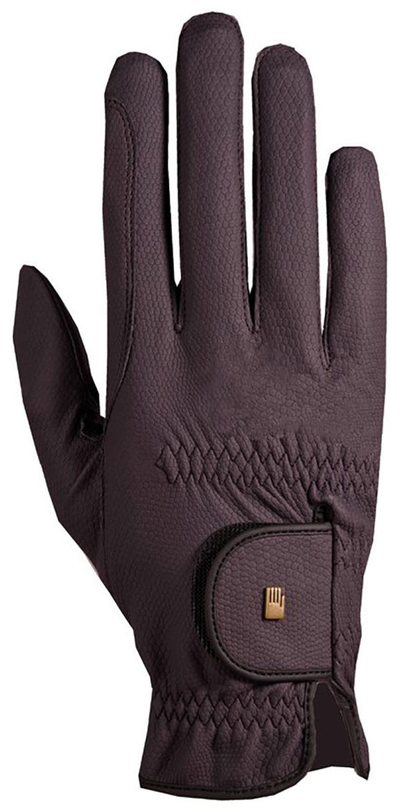 Roeckl Chester Roeck-Grip Riding Gloves - Plum