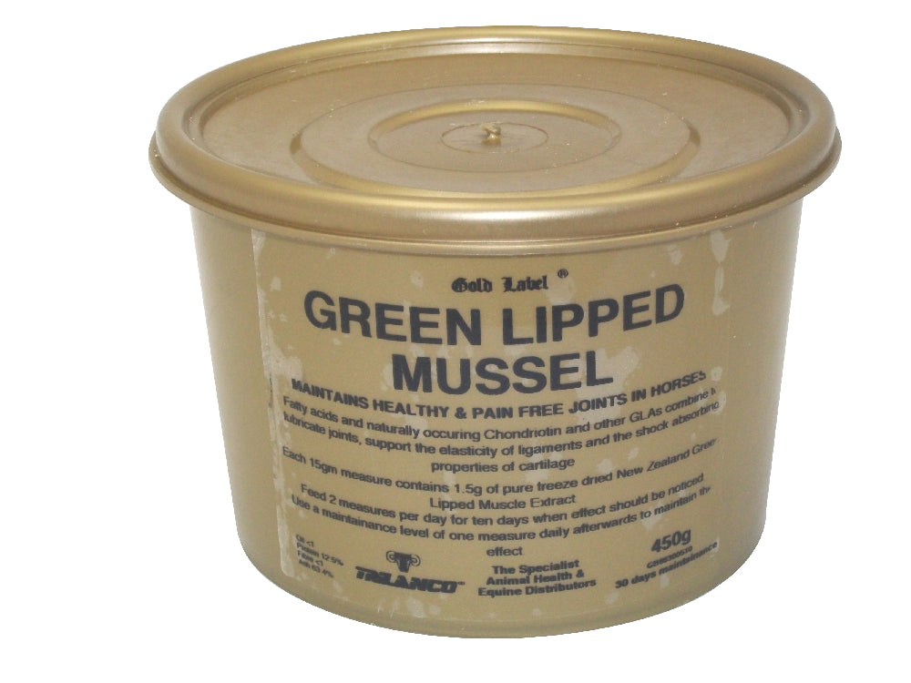 Gold Label Green Lipped Mussel - 450 g