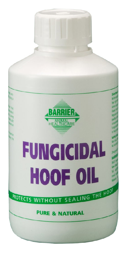 Barrier Fungicidal Hoof Oil - Black
