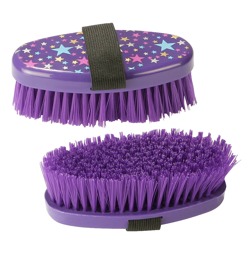 PFIFF Body Brush Magical Stars - Purple