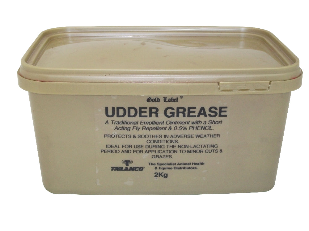 Gold Label Udder Grease - 2kg
