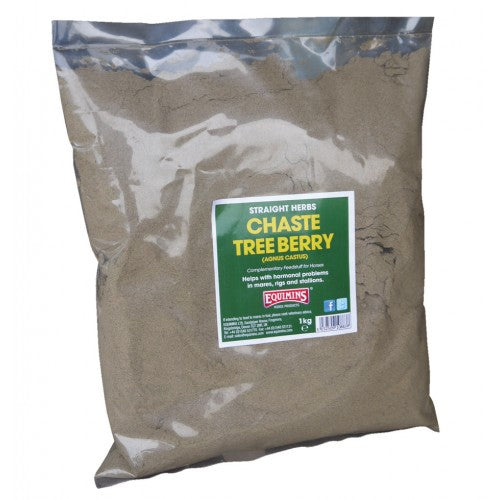 Equimins Straight Herbs Chaste Tree Berry - 1kg Bag