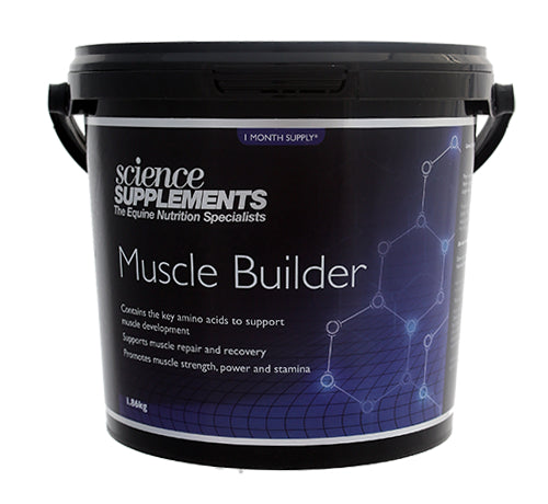 Science Supplements Muscle Builder - 1.86kg Tub