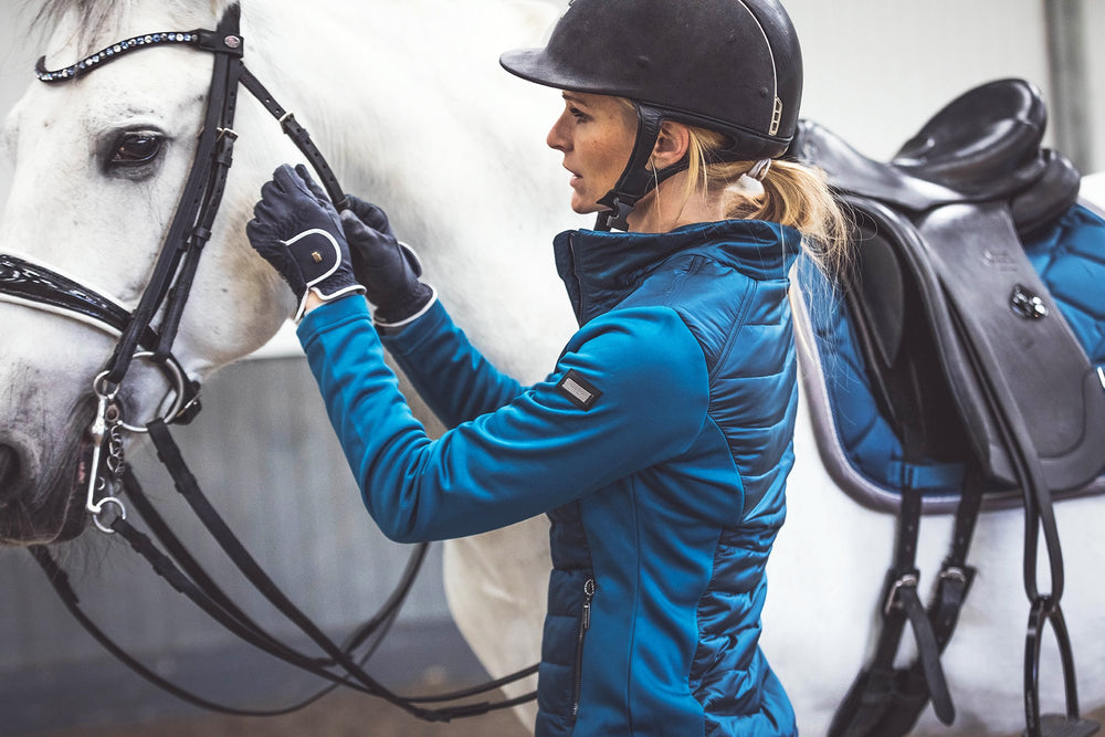 Equestrian Stockholm Active Performance Jacket - Moroccan Blue