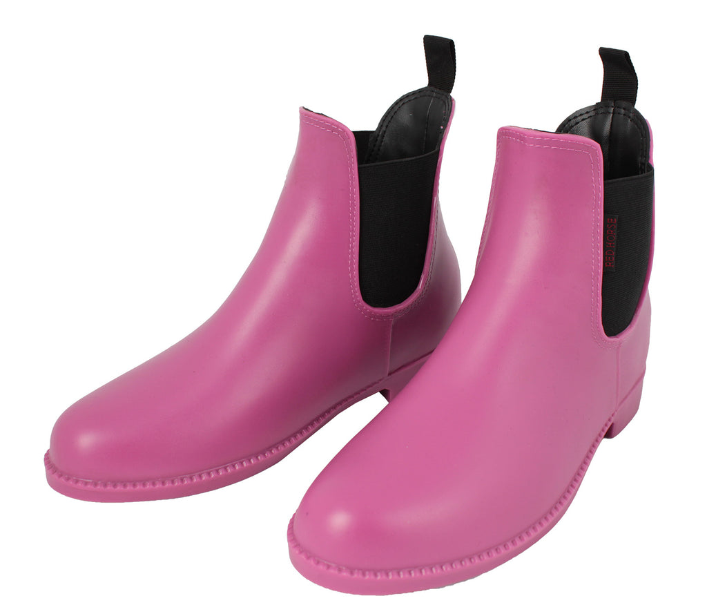HORKA RED HORSE Rh Jodhpurschoen Pvc Shoes - Black/Pink