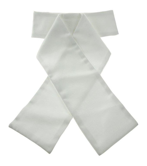 Show Quest Stock Classic Ready Tied - White
