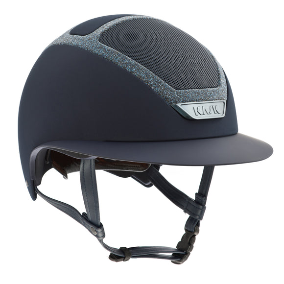 KASK Swarovski Frame Star Lady - Navy Blue