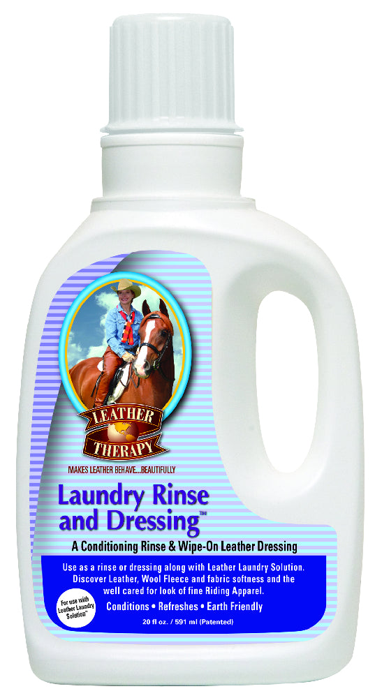 Absorbine Leather Therapy Laundry Rinse & Dressing - 591ml