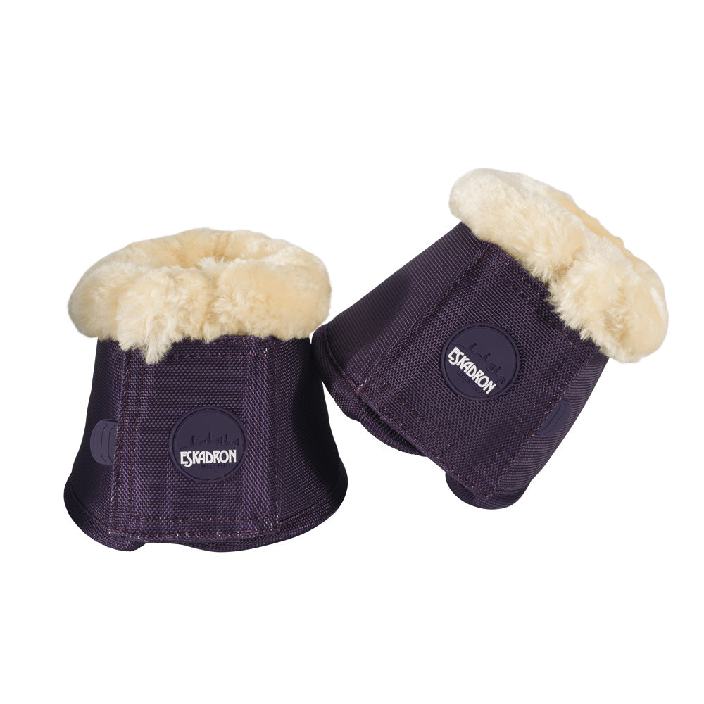 Eskadron AW18 Classic Sports Fur Over Reach Boots - Plum