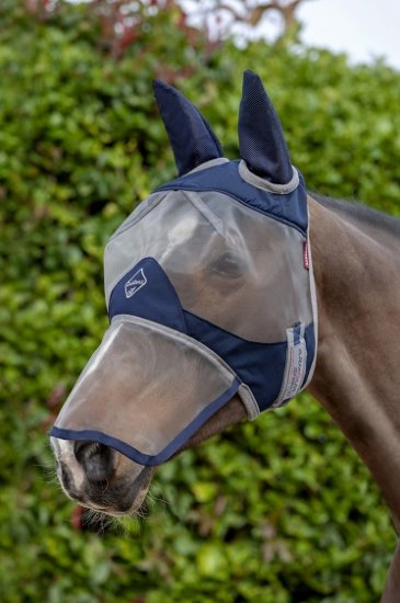 LeMieux Armour Shield Fly Protector Full Mask Ears Nose