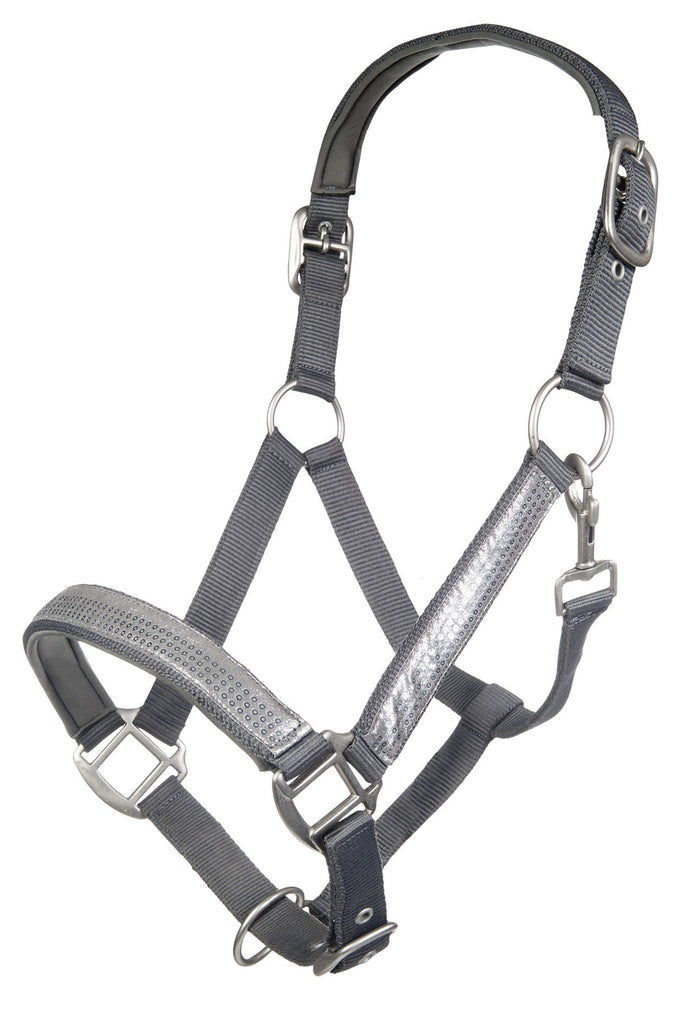 Cavallino Marino Rimini Head Collar - Deep Grey
