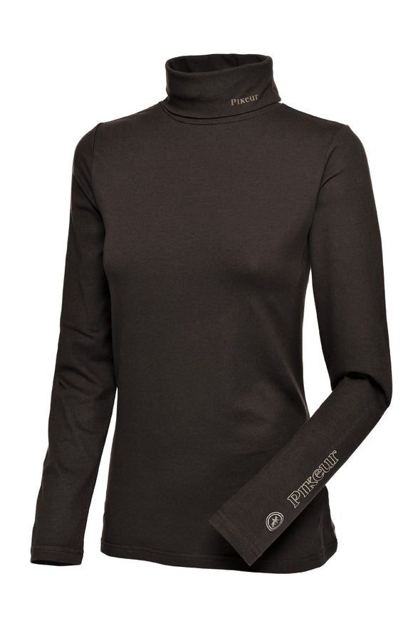 Pikeur Sina Polo Neck Base Layer - Brown