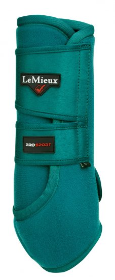 LeMieux ProSport Peacock Green Support Boot