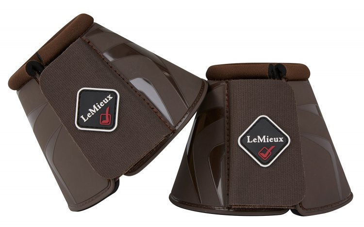 LeMieux Proshell Over Reach Boots Brown
