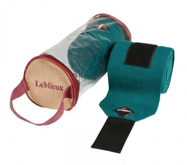 LeMieux Stable Bandages - Peacock Green