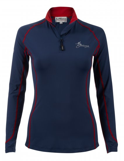 My LeMieux Base Layer Navy Red