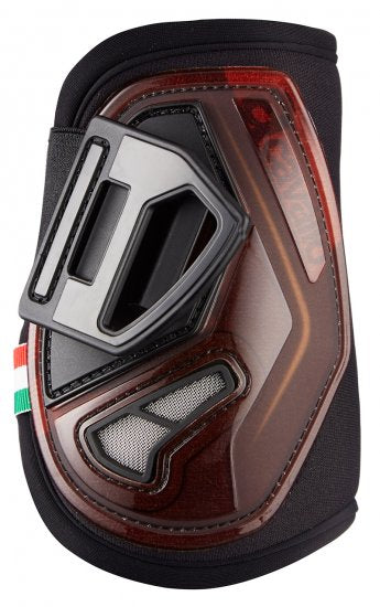 Acavallo Opera Fetlock Jumping Boots - Brown