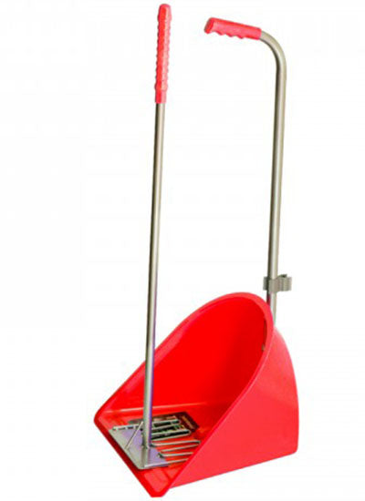 Tubtrug Tidee Manure Scoop & Rake - Red