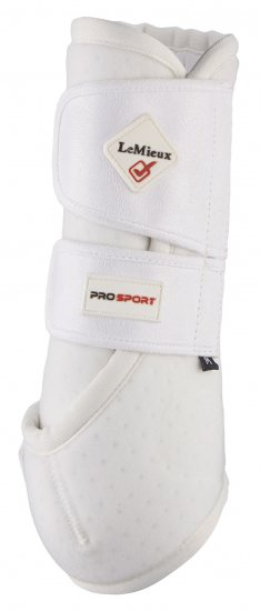 LeMieux ProSport White Support Boot