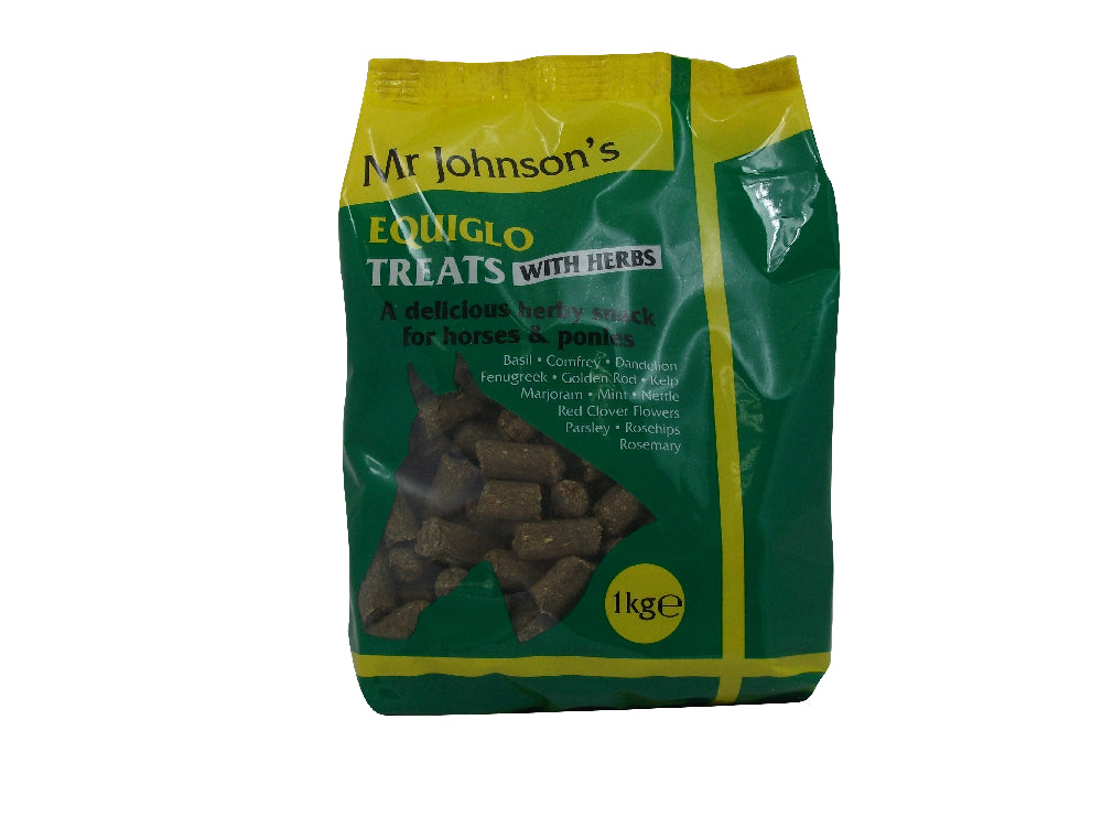 Mr Johnsons Mr. Johnsons Equiglo Treats With Herbs - 16 x 1kg