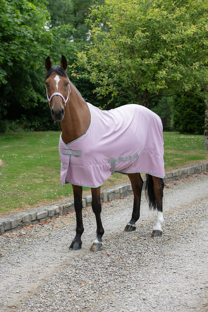 Bucas Freedom Twill Stable Sheet - Mauve