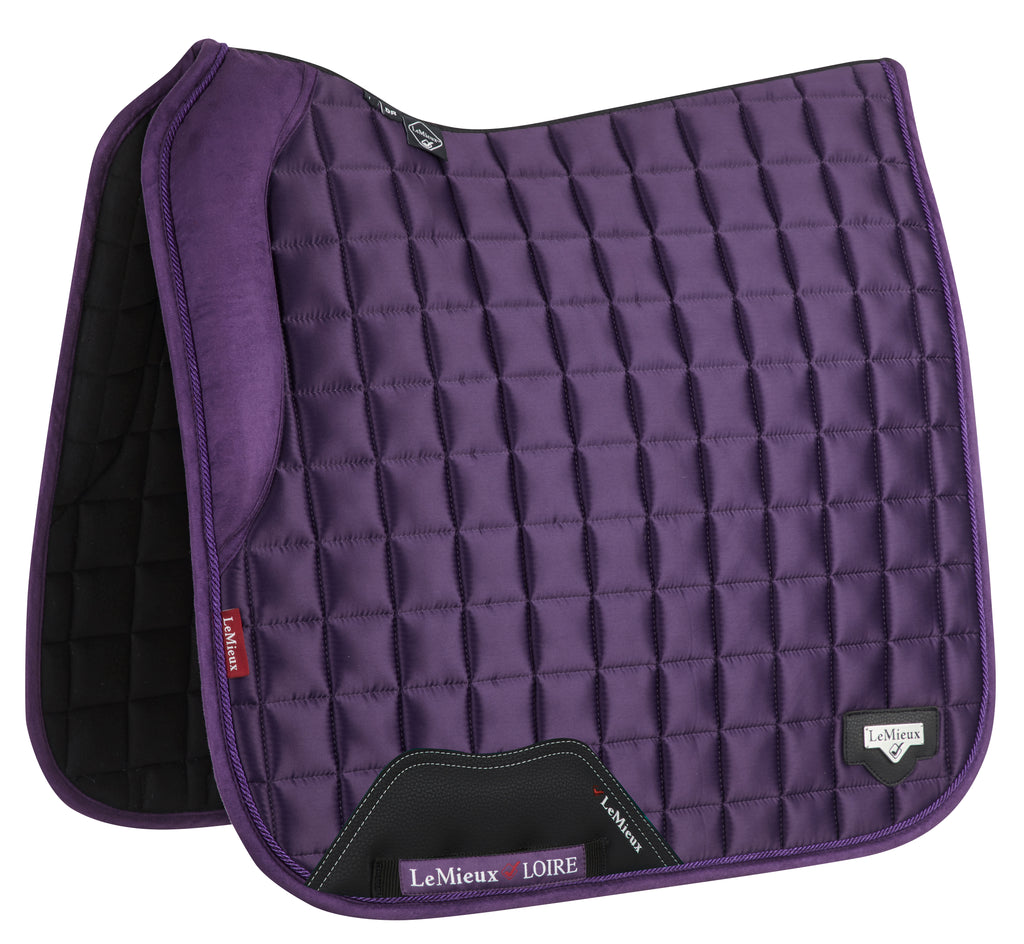 LeMieux Loire Dressage Saddlepad - Blackcurrant