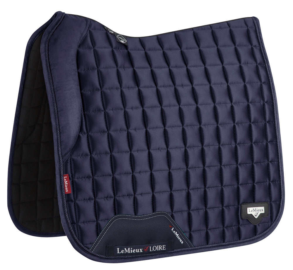 LeMieux Loire Dressage Saddlepad - Navy