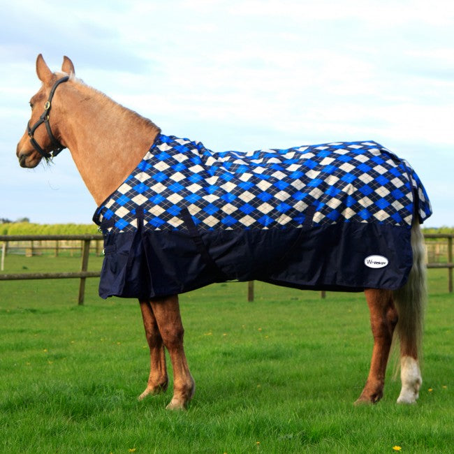 John Whitaker Menston 200g Checked Turnout Rug