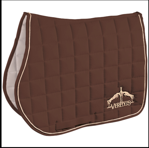 Veredus Saddle Cloth Microfiber Jumping - Brown