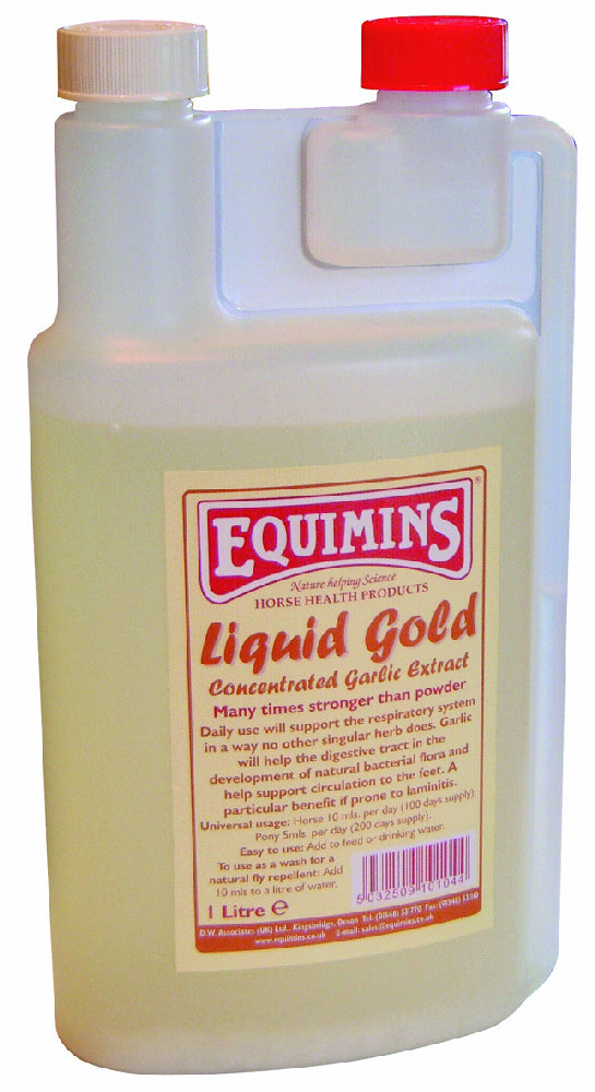 Equimins Liquid Gold Concentrated Garlic Extract - 1L