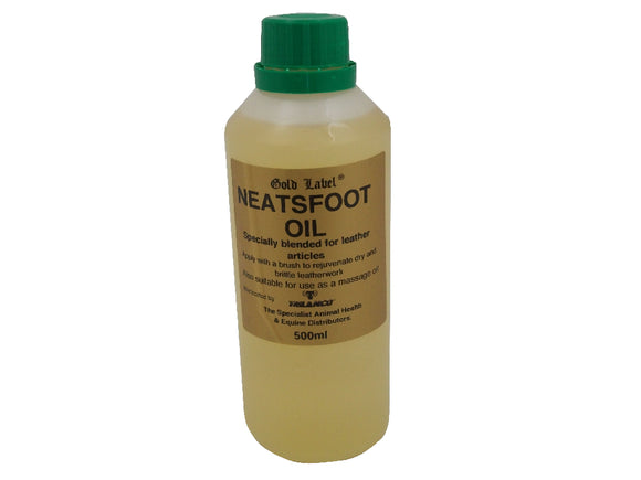 Gold Label Neatsfoot Oil - 500ml