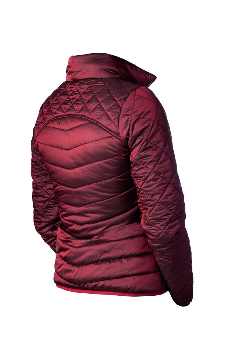 Equestrian Stockholm Lightweight Padded Jacket - Bordeaux