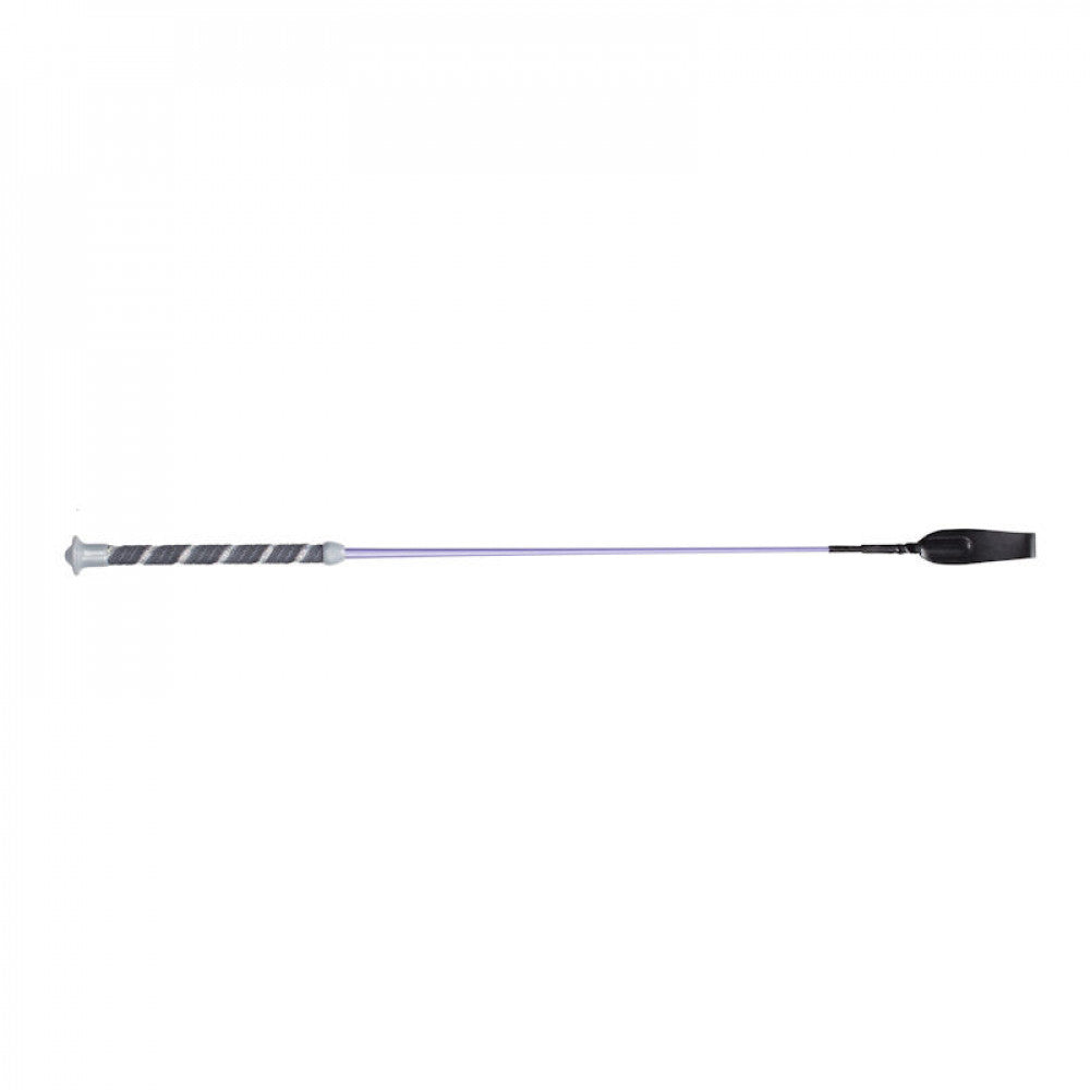 Horze Freddie Metallic All Purpose Whip - Purple