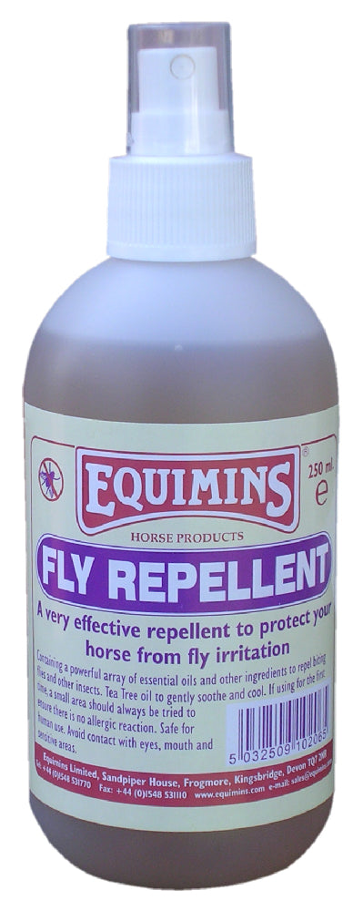 Equimins Fly Repellent Quiet Spray - 250ml